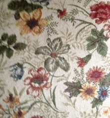 Floral Sofa Details