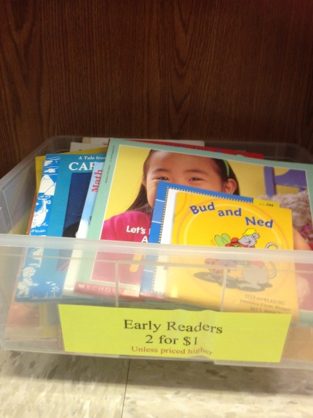 Early Readers Books 2 for $1